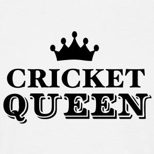 cricket queen - Men's T-Shirt
