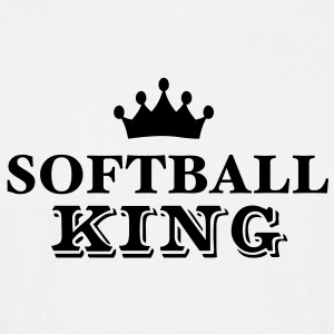 softball king - Men's T-Shirt
