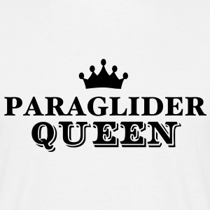 paraglider queen - Men's T-Shirt