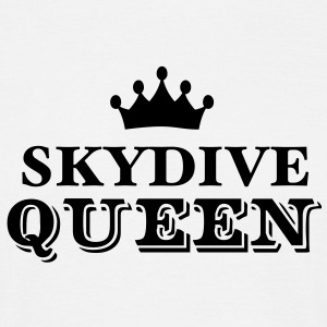 skydive queen - Men's T-Shirt