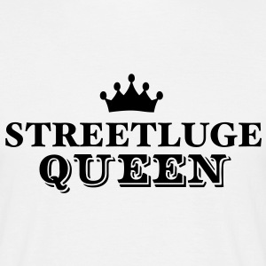 streetluge queen - Men's T-Shirt