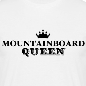 mountainboard queen - Men's T-Shirt