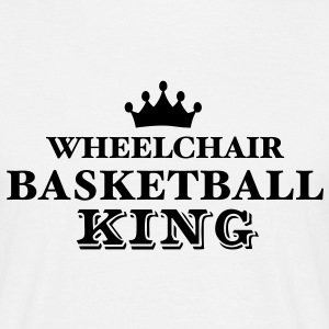 wheelchair basketball king - Men's T-Shirt