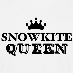 snowkite queen - Men's T-Shirt