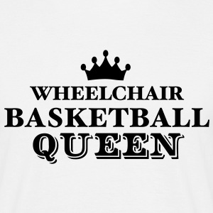 wheelchair basketball queen - Men's T-Shirt