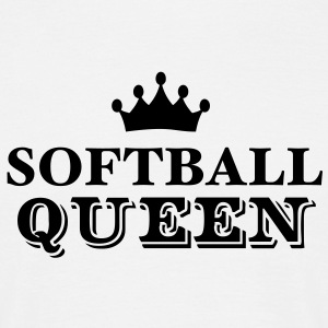 softball queen - Men's T-Shirt