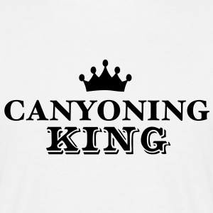 canyoning king - Men's T-Shirt