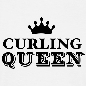 curling queen - Men's T-Shirt