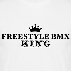 freestyle bmx king - Men's T-Shirt