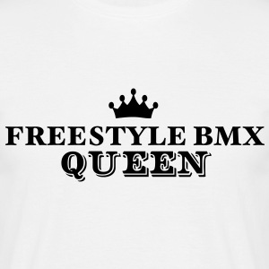 freestyle bmx queen - Men's T-Shirt