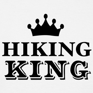 hiking king - Men's T-Shirt