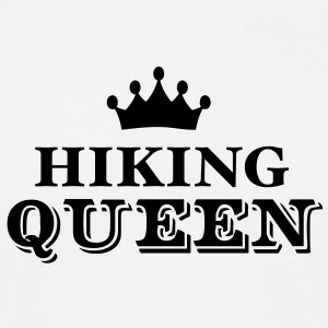 hiking queen - Men's T-Shirt