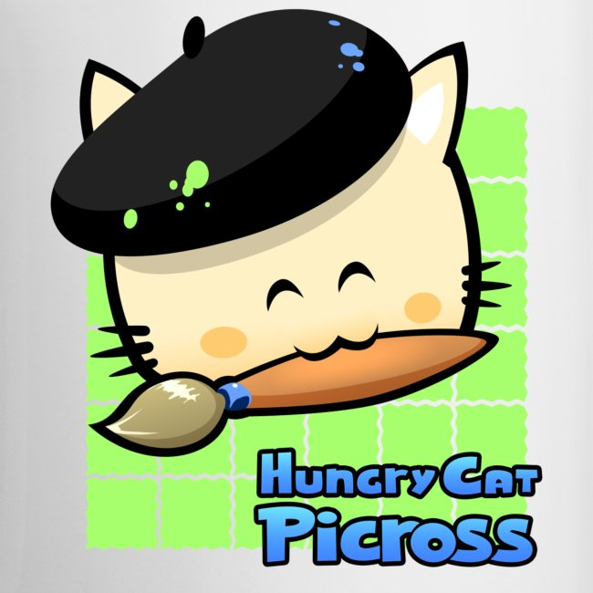 Hungry Cat Picross Mug (Green)
