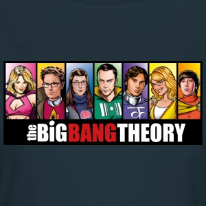 The Big Bang Theory Comic Dam T-Shirt - T-shirt dam