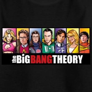 The Big Bang Theory Comic Teenager T-Shirt - Teenager T-Shirt