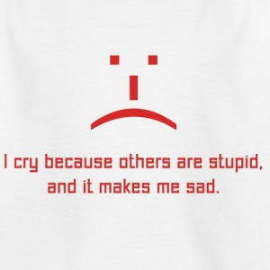 The Big Bang Theory Stupid Sad Ado Tee Shirt - T-shirt Ado