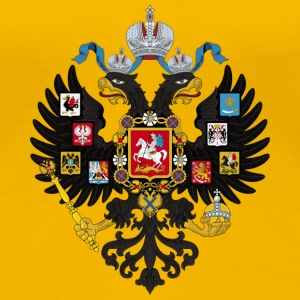 Coat of Arms of the Russian Empire - Frauen Premium T-Shirt