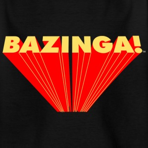 The Big Bang Theory Bazinga Teenager T-Shirt - Teenager T-Shirt