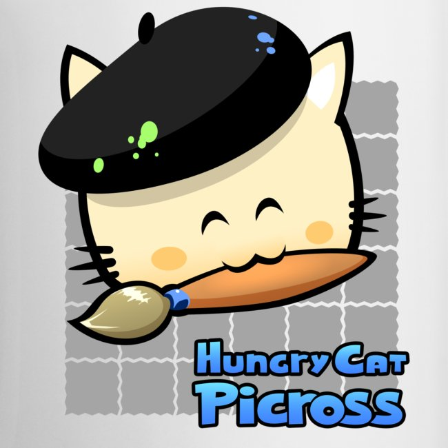 Hungry Cat Picross Mug (Grey)
