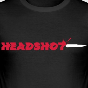 Headshot - Männer Slim Fit T-Shirt