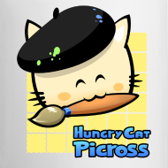 Design ~ Hungry Cat Picross Mug (Yellow)