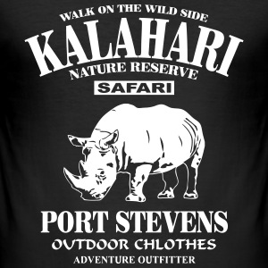 Rhino - Kalahari T-Shirts - Men's Slim Fit T-Shirt