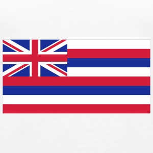 National Flag of Hawaii Topper - Premium singlet for kvinner