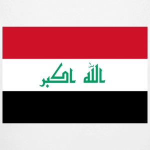 National Flag of Iraq Baby Bodysuits - Longlseeve Baby Bodysuit