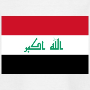 Nationalflagge von Irak T-Shirts - Kinder T-Shirt