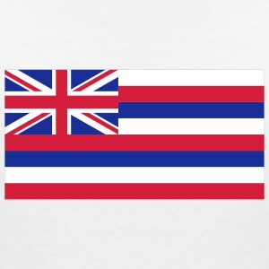 National Flag of Hawaii T-Shirts - Women's V-Neck T-Shirt
