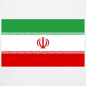National Flag of Iran Babybody - Økologisk langermet baby-body