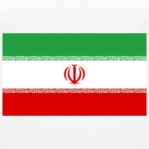 National Flag of Iran Topper - Premium singlet for kvinner