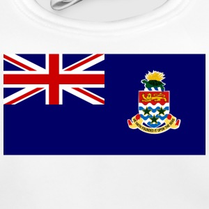 Nationale flag Cayman Islands Accessories - Baby økologisk hagesmæk