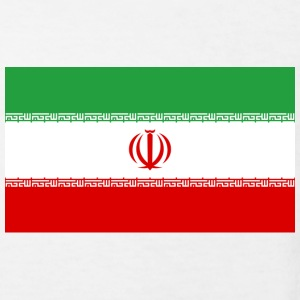 Nationalflagge von Iran T-Shirts - Kinder Bio-T-Shirt