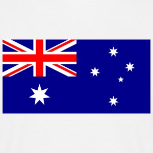 National flag of Australia T-Shirts - Men's T-Shirt