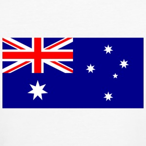 Nationalflagge von Australien T-Shirts - Frauen Bio-T-Shirt
