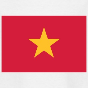 National Flag of Vietnam Skjorter - T-skjorte for barn