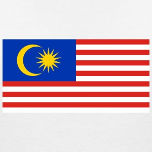 National flag of Malaysia T-Shirts - Women's V-Neck T-Shirt