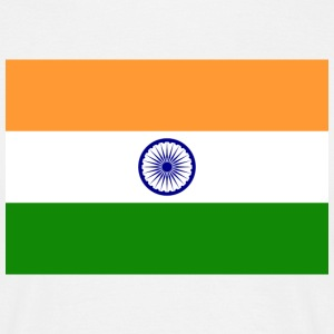 National Flag of India T-shirts - Herre-T-shirt