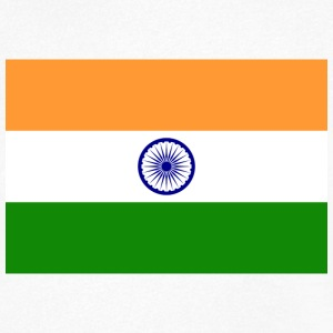 National Flag of India T-shirts - Herre T-shirt med V-udskæring