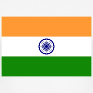 National Flag of India T-skjorter - Slim Fit T-skjorte for menn