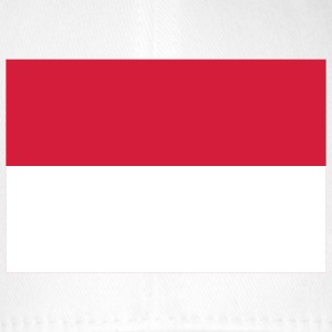 Nationalflagge von Indonesien Caps & Mützen - Flexfit Baseballkappe