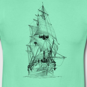 sailing ship T-Shirts - Men's T-Shirt