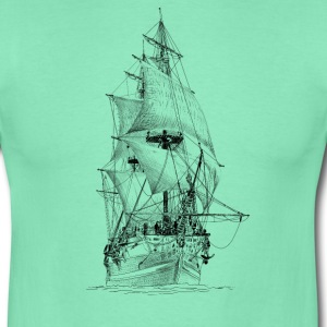 sailing ship Tee shirts - T-shirt Homme