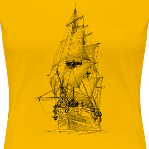 sailing ship T-Shirts - Women's Premium T-Shirt
