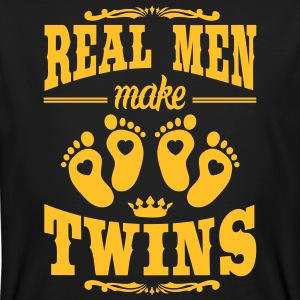 Real Men make Twins T-Shirts - Männer Bio-T-Shirt