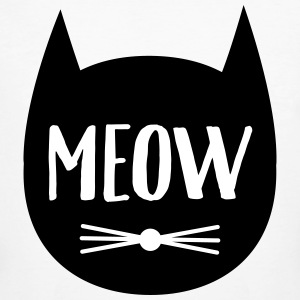 MEOW (Cat Silhouette) T-shirts - Organic mænd