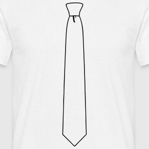 Tie T-Shirts - Men's T-Shirt