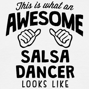 awesome salsa dancer looks like - Men's T-Shirt