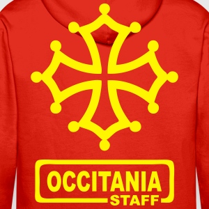 occitania staff Sweat-shirts - Sweat-shirt à capuche Premium pour hommes